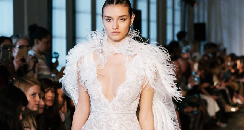 BERTA Debut's 2019 Spring Summer Wedding Collection