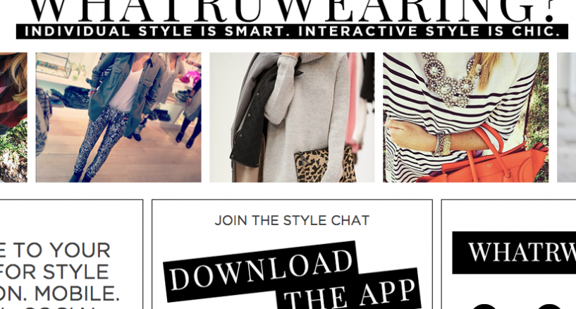 WhatRUWearing App Introduces Mobile Source for Style & Fashion Inspiration