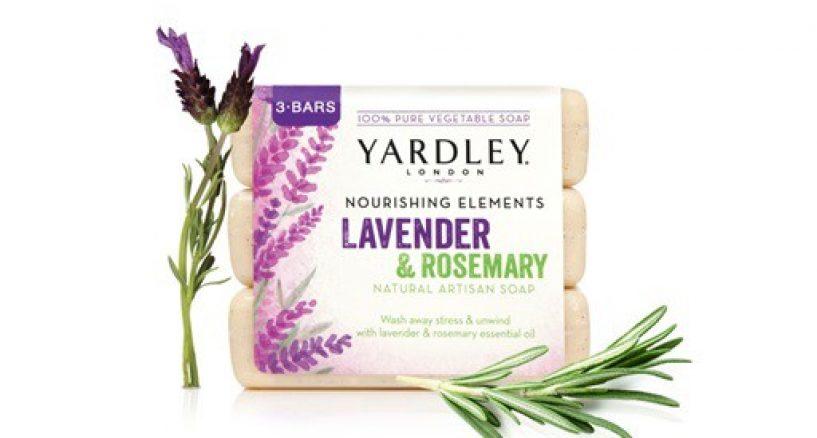 Yardley Natural Lavender Rosemary Bar Soap Must Have