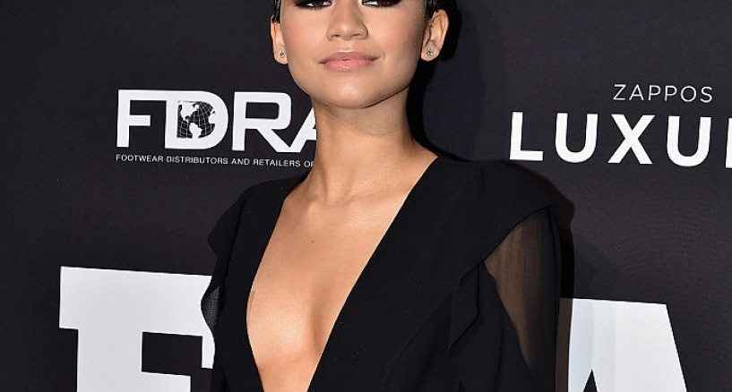 Zendaya, Diamond Style Moment